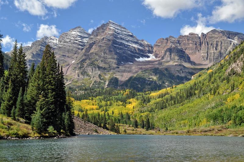 #019F Maroon Bells, Aspen, Colorado 2013